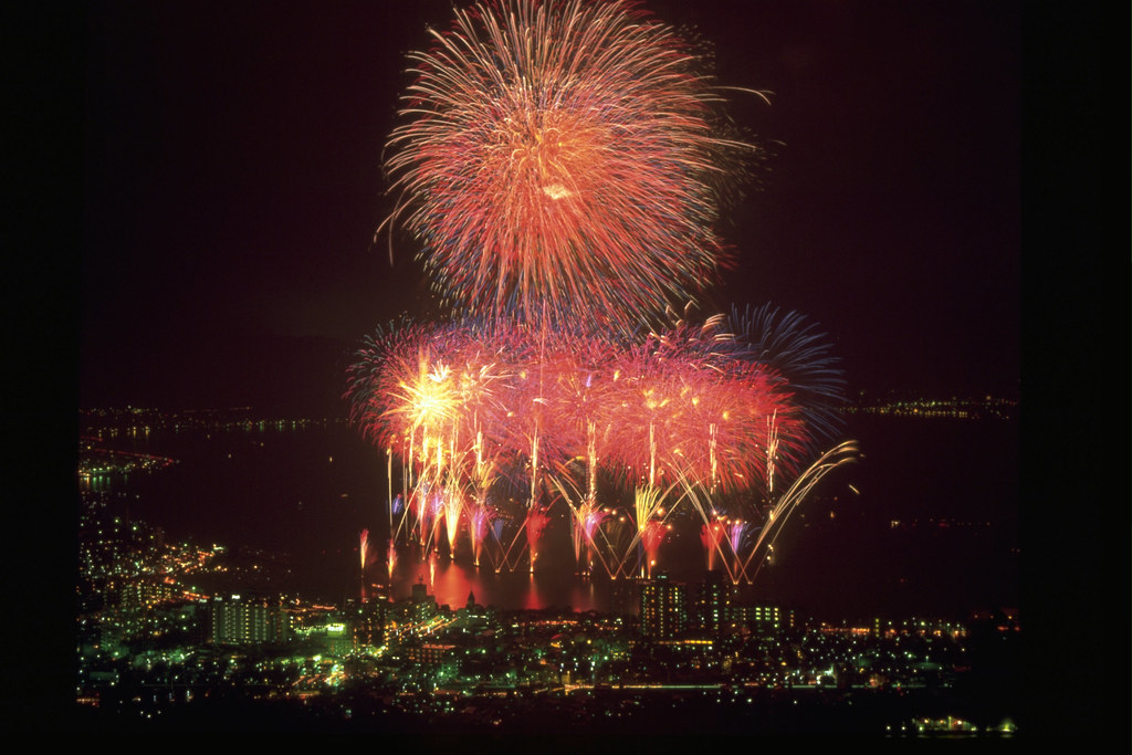 100 Suwa Fireworks Festival