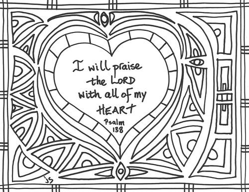 psalm 138 art