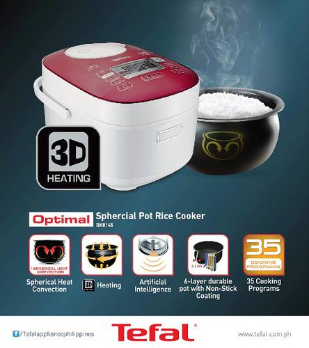 Tefal Spherical Pot Rice Cookers Artificial Intelligence Technology