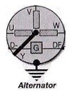 6 Series-Alternator Symbol