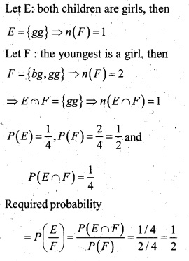 Plus Two Maths Chapter Wise Questions and Answers Chapter 13 Probability 16