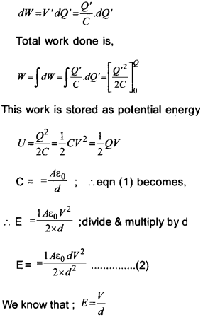 Plus Two Physics Chapter Wise Questions and Answers Chapter 2 Electric Potential and Capacitance 21