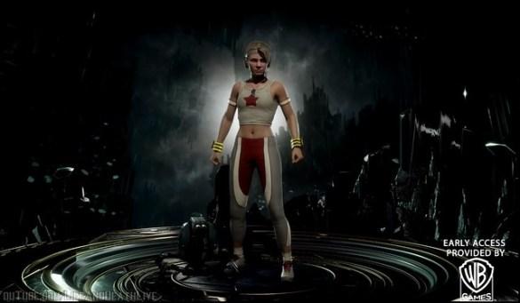 Mortal Kombat 11 - Equipo de entrenamiento Cassie Cage