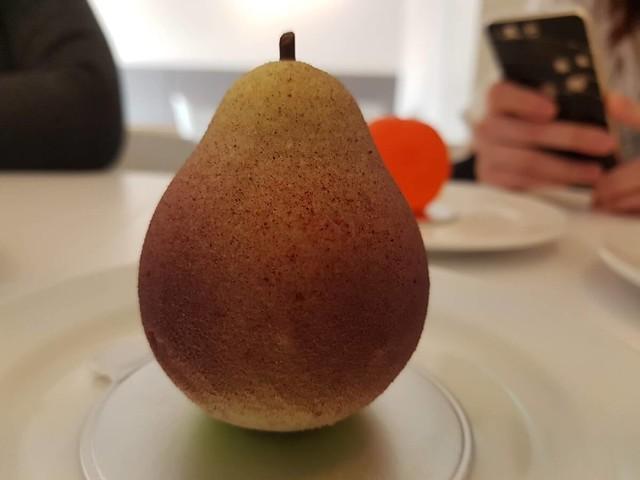 Looks like a pear, tastes like chocolate