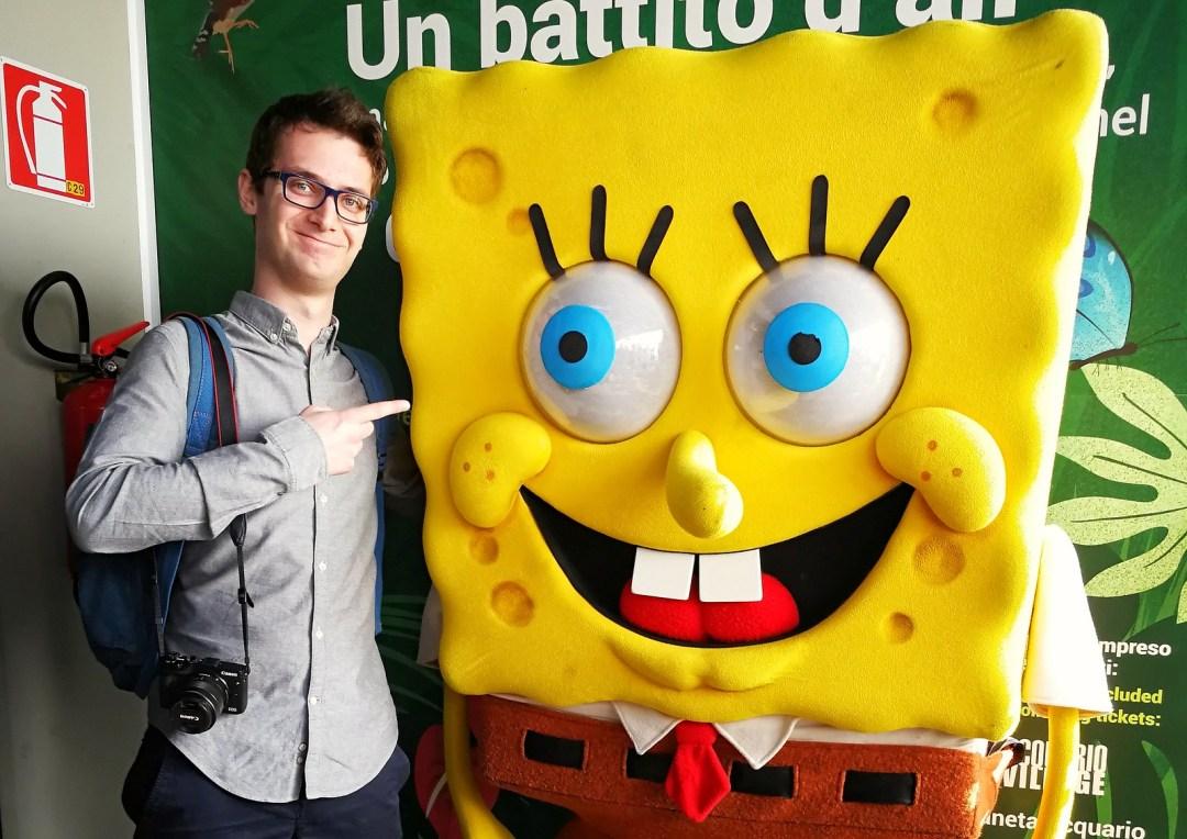 Spongebob, Acquario di Genova
