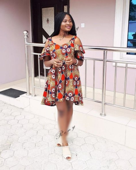 Ankara short juicy Gown hot 2019
