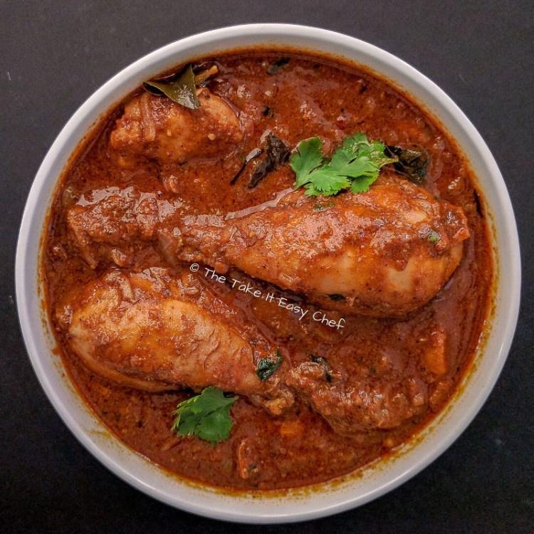 Chettinad Chicken Curry Image