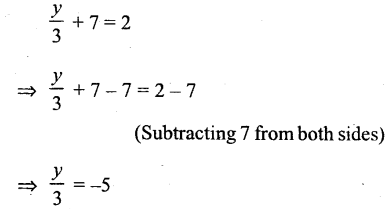 Selina Concise Mathematics Class 6 ICSE Solutions - Simple (Linear) Equations (Including Word Problems) - r14