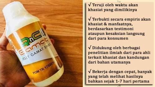 QnC Jelly Gamat bekerja cepat obati penyakit