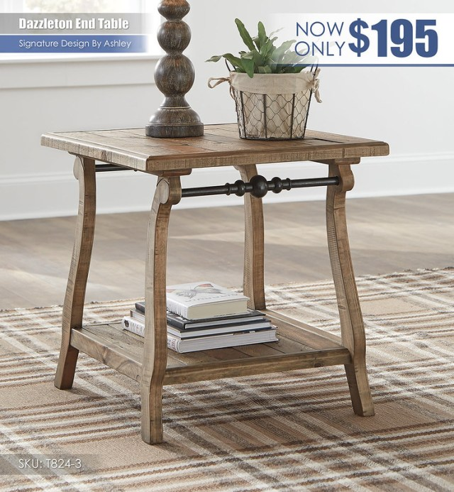 Dazzleton End Table_T824-3