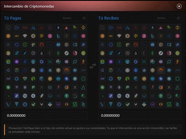 Exchange en Luckygames
