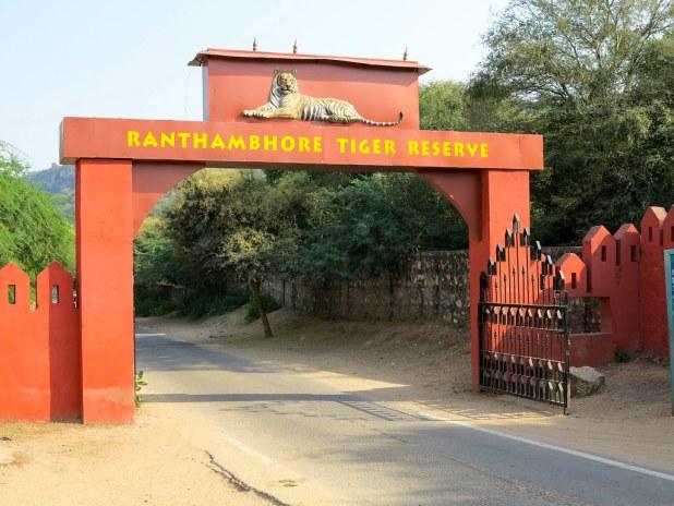 Entrada al Parque Nacional de Ranthambore