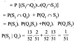 Plus Two Maths Chapter Wise Questions and Answers Chapter 13 Probability 57