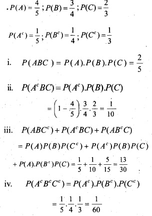 Plus Two Maths Chapter Wise Questions and Answers Chapter 13 Probability 24