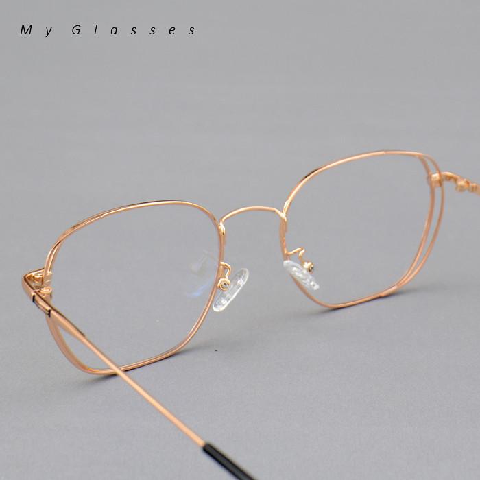 Retro金屬雙層眼鏡-高階合金-鏡框-墨鏡-Myglasses個人眼鏡