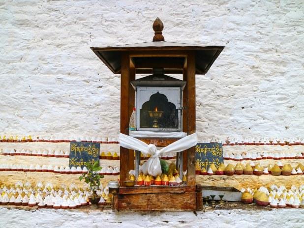 Estupas en Bután