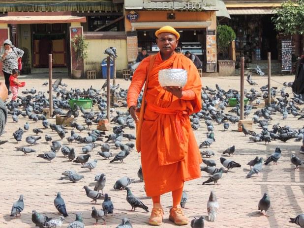Visita a Boudhanath
