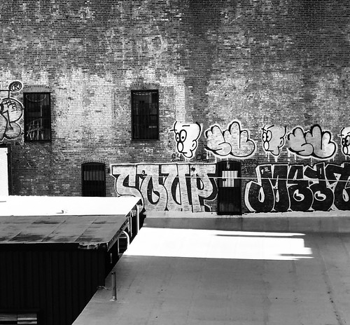 Roof Top Graffiti by DJ Lanphier