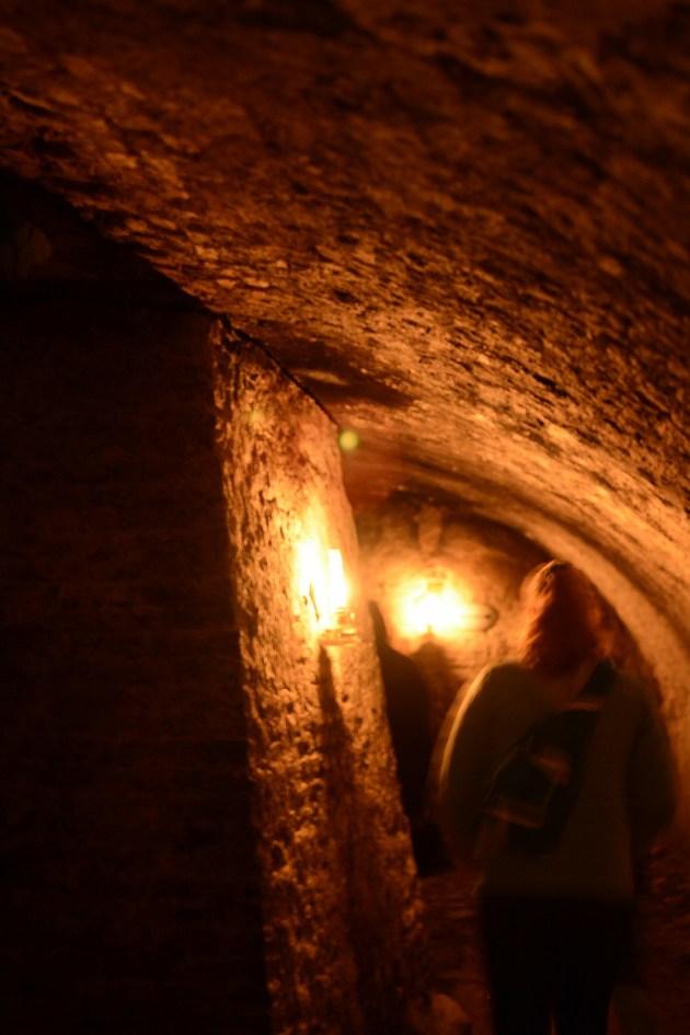 The Casemates under Kronborg Castle