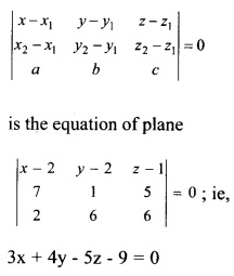 Plus Two Maths Chapter Wise Questions and Answers Chapter 11 Three Dimensional Geometry 2