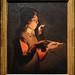 """Nancy (Meurthe-et-Moselle) - Musée lorrain - Palais ducal - """"Le souffleur à la pipe"""" (Georges de La Tour (d'après), 17e)"""