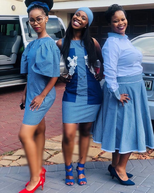 Top Shweshwe Dresses For African Women 2019