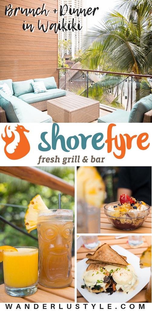 ShoreFyre Fresh Grill & Bar at International MarketPlace in Waikiki for Breakfast, Lunch, and Dinner Waikiki | Wanderlustyle.com