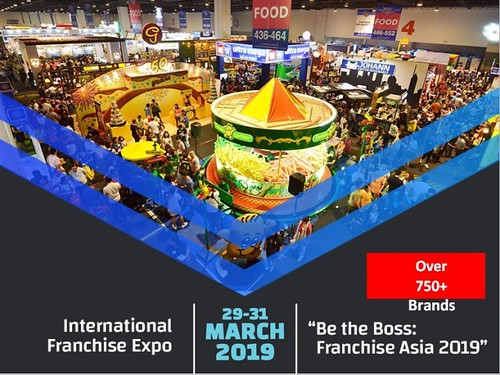 Franchise Asia Philippines 2019 Be the Boss