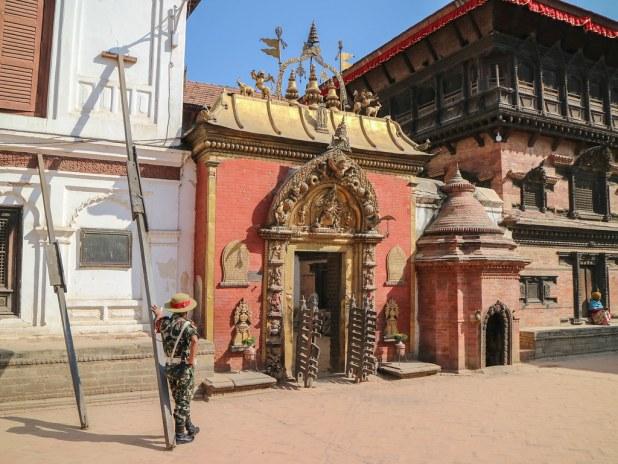Puerta Dorada de Bhaktapur