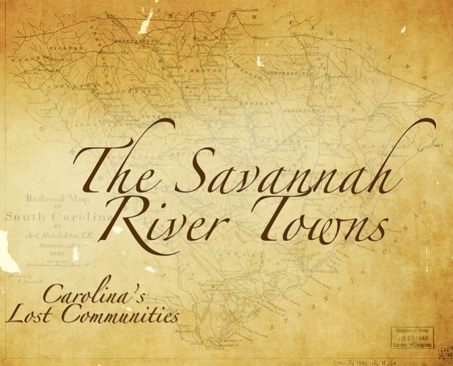 Savannah River Towns 3
