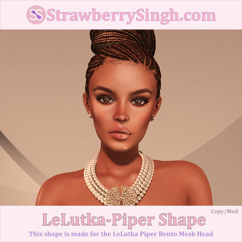 StrawberrySingh.com LeLutka-Piper Shape