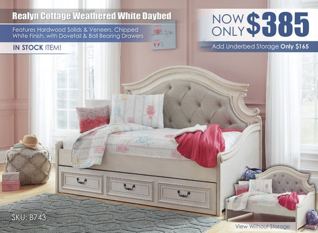 Realyn Cottage Daybed_B743-80_instock