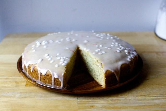 plush coconut cake