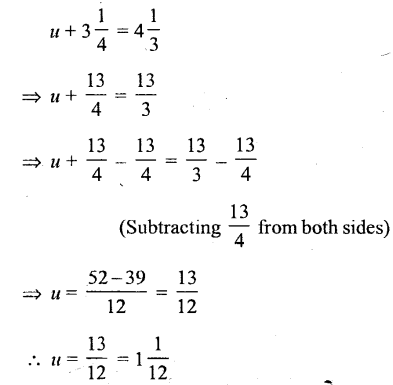 Selina Concise Mathematics Class 6 ICSE Solutions - Simple (Linear) Equations (Including Word Problems) - r9