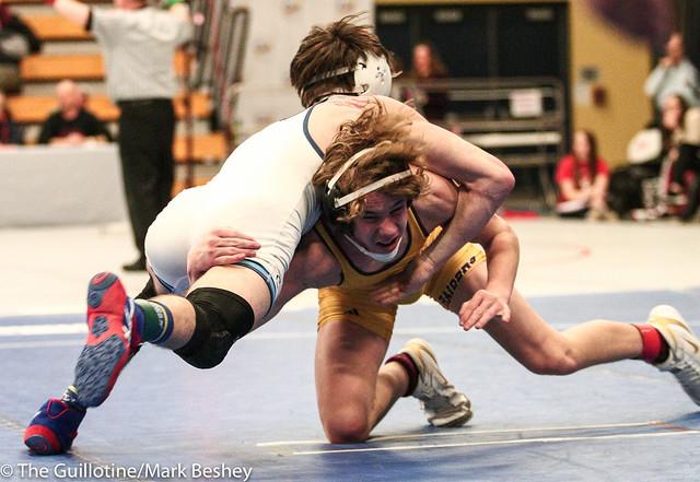 126 - Jordan Driscoll (Blaine) over Sam Holman (Northfield) Dec 3-1 - 180105cmk0028