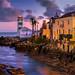 Cascais, lighthouse and villa, Portugal
