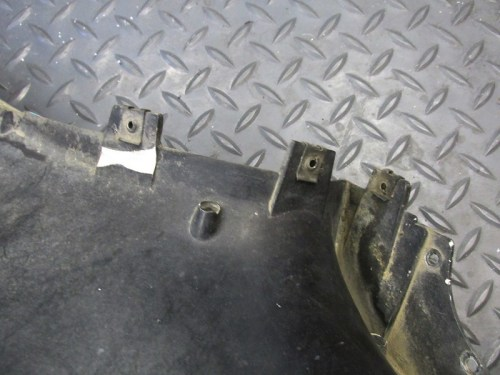 Upper Side Panel Tinnerman Clips For Securing Middle and Lower Center Panel