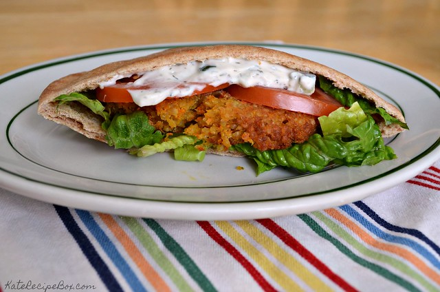 Greek Quinoa Pita Pockets 1