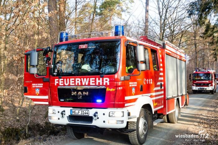 Großbrand Erlenhof Bad Homburg 28.02.19