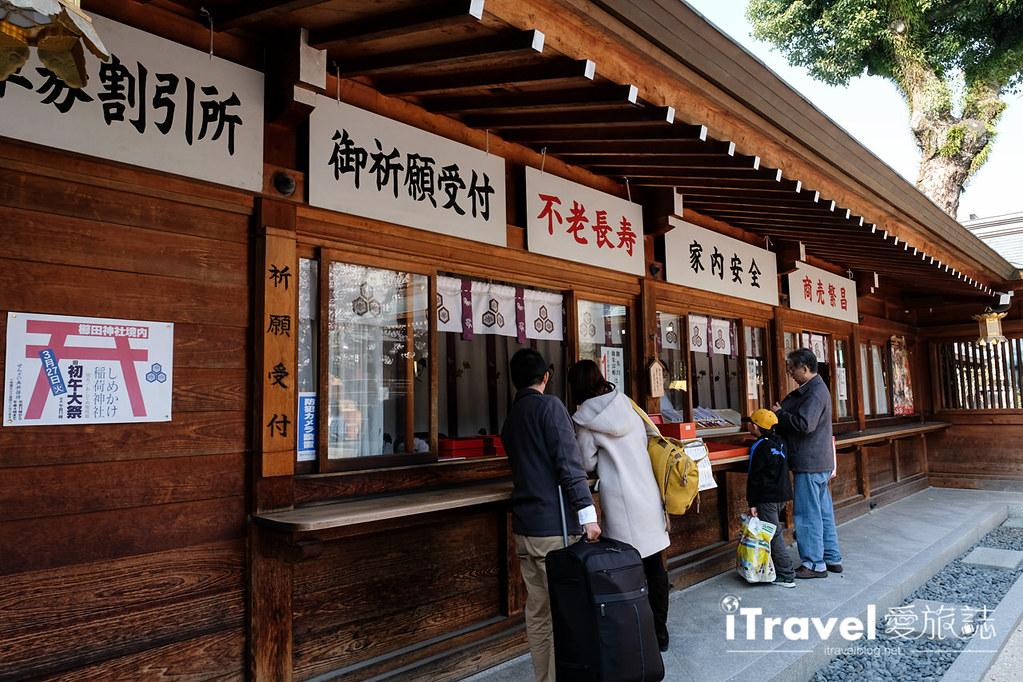 福岡賞櫻景點 櫛田神社 (14)