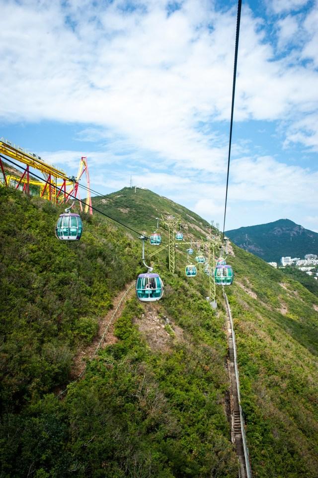 Hong Kong Ocean Park Gondola