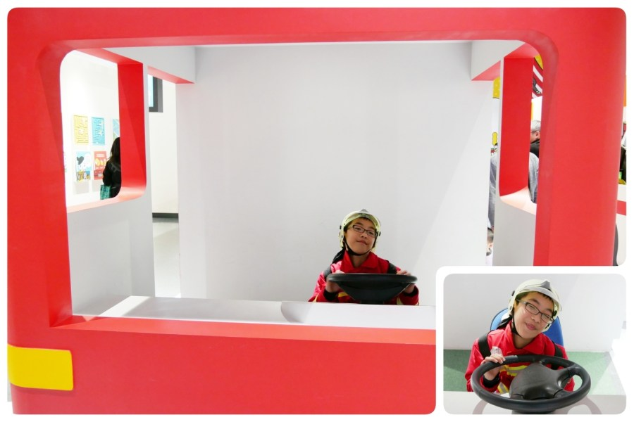 [八德旅遊]桃園防災教育館|雨天備案~室內免費入場親子室內桃園旅遊景點.體驗VR、AR虛擬實境變身為小小消防員 @VIVIYU小世界