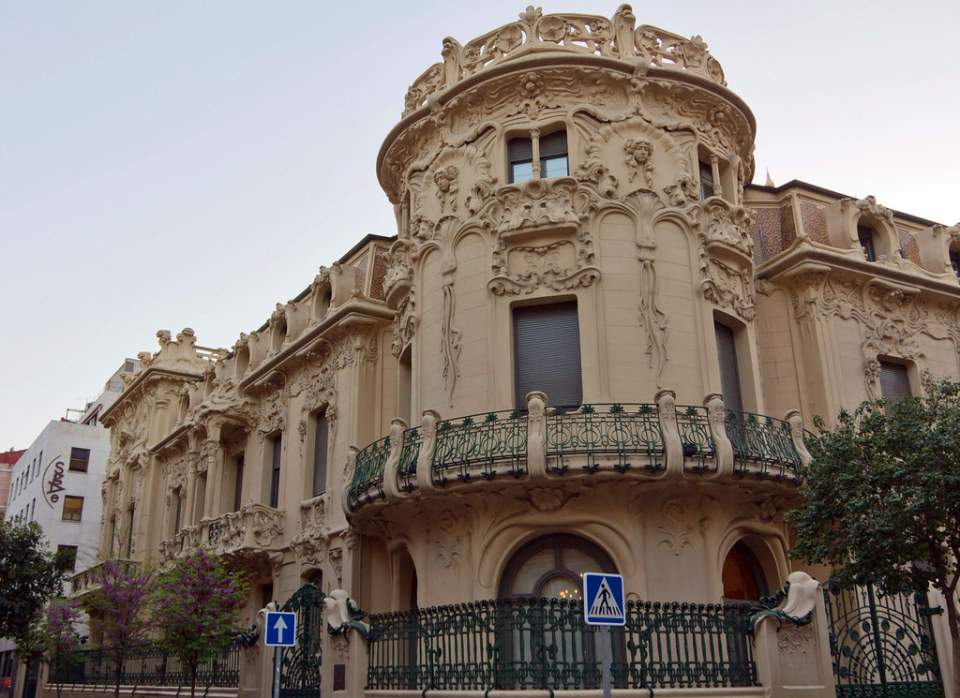 edificio Palacio Longoria sede de la SGAE Madrid 01