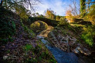 Rio Murtiga y Puente Medieval. 10-12-18.