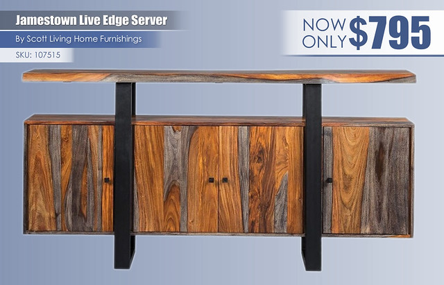 Jamestown Live Edge Server_107515