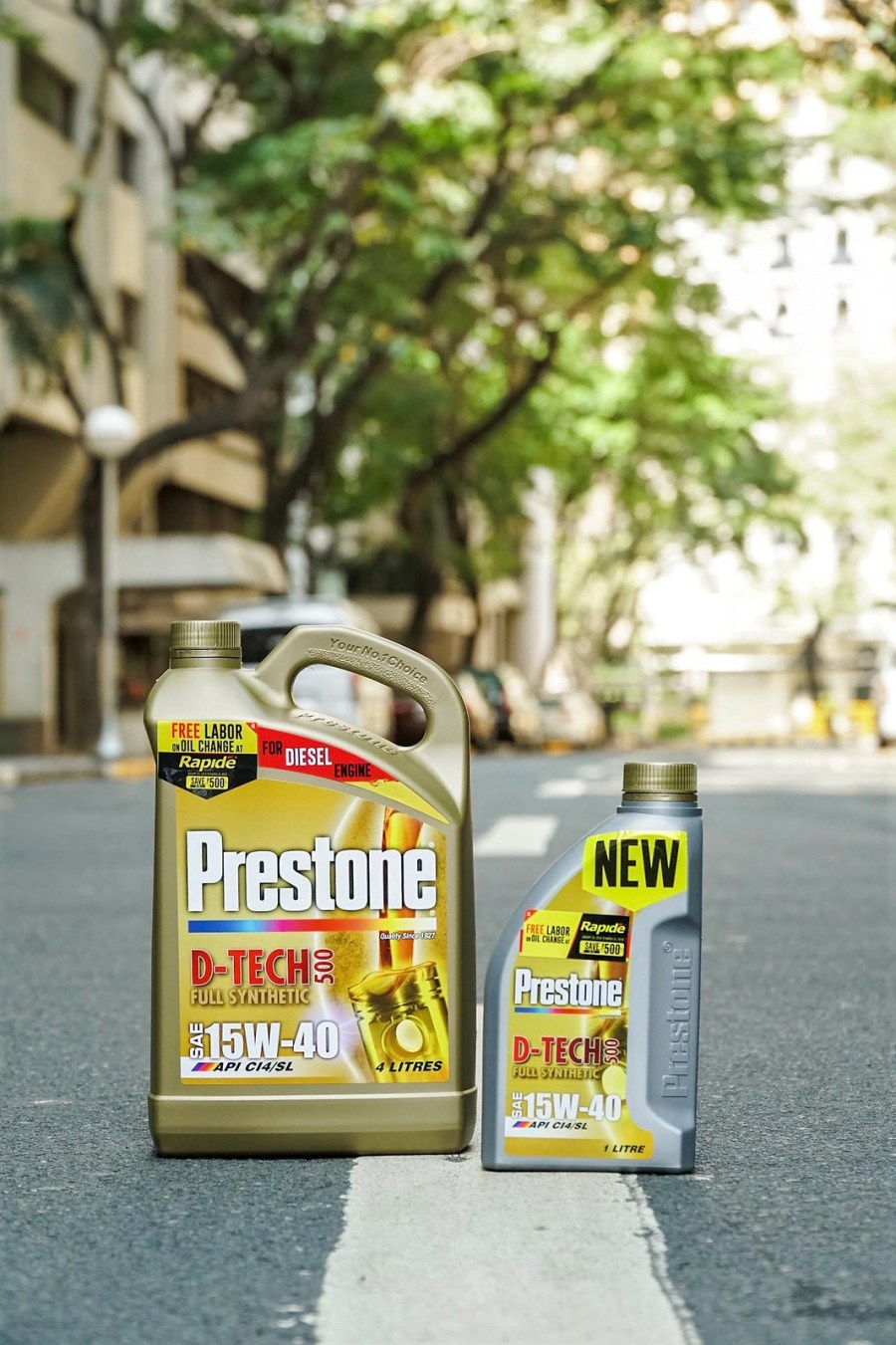 Treat your car well with Prestone and Rapide + Free Change