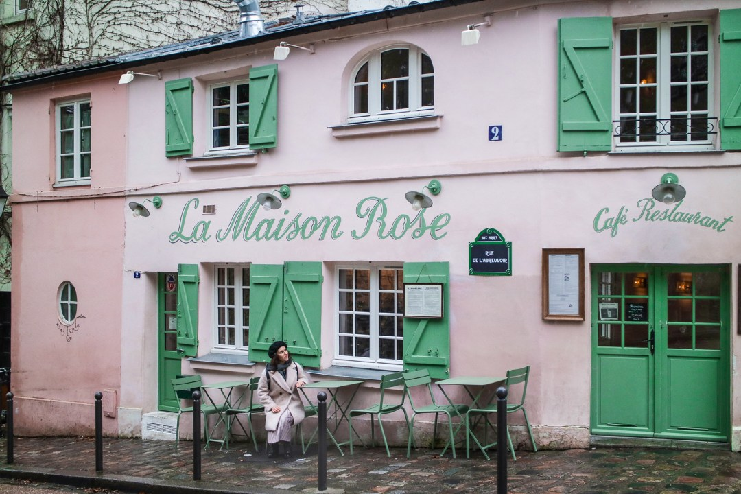 La Maison Rose, Parigi