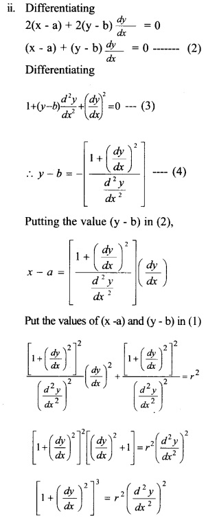 Plus Two Maths Chapter Wise Questions and Answers Chapter 9 Differential Equations 35
