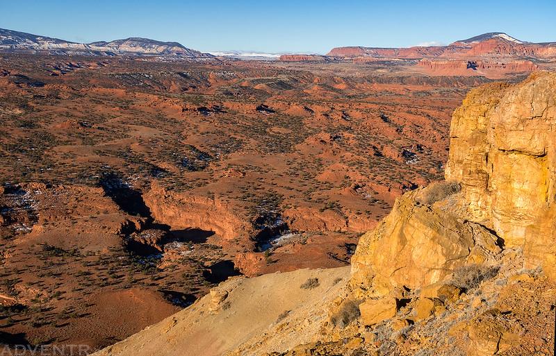 Chimney Rock Mesa View