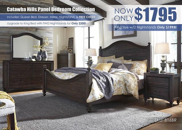 Catawba Hills Panel Bedroom Set_Liberty Furniture_816BR